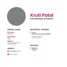 Patel Kruti Anilbhai